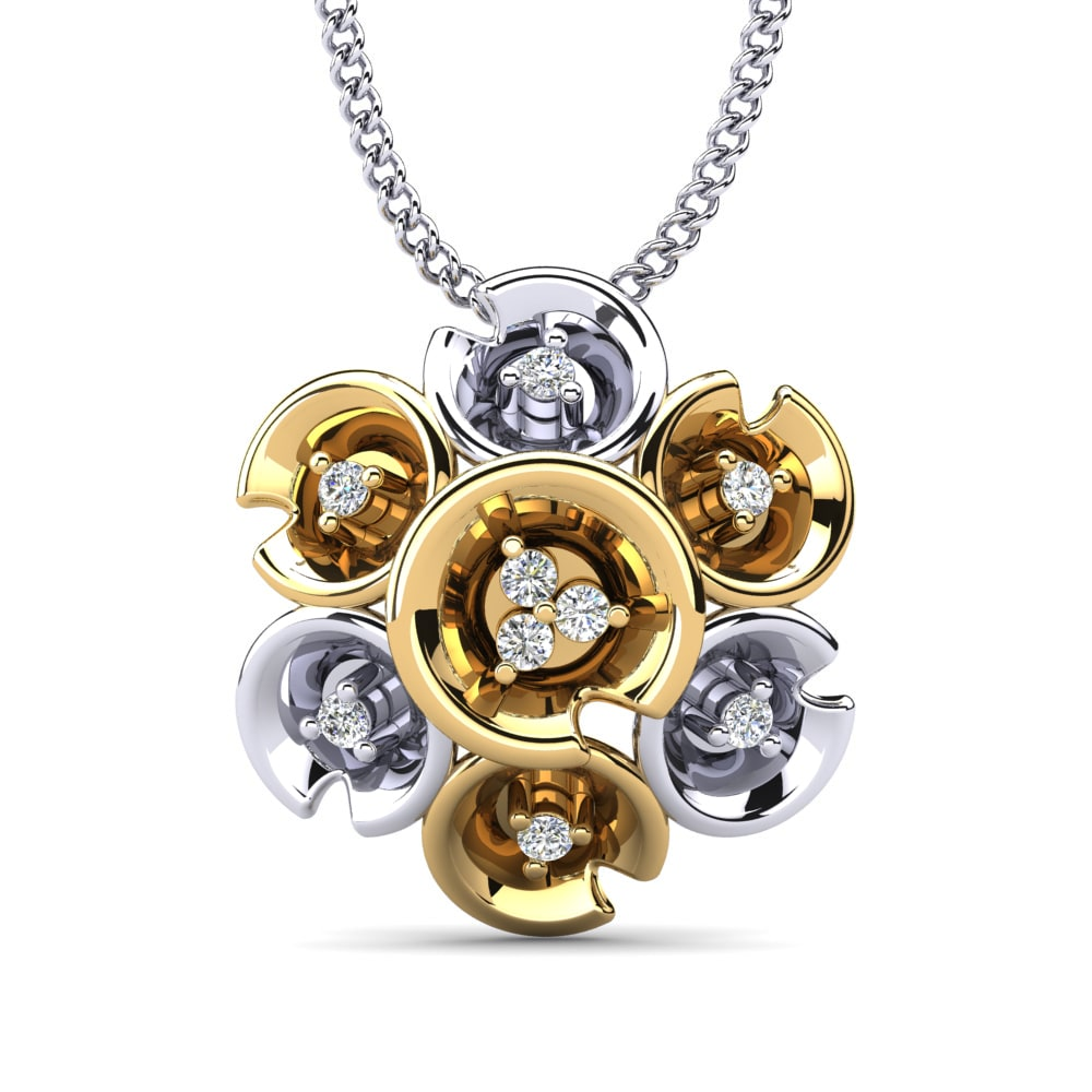 stylish-014ct-diamond-pendant-gold-18k