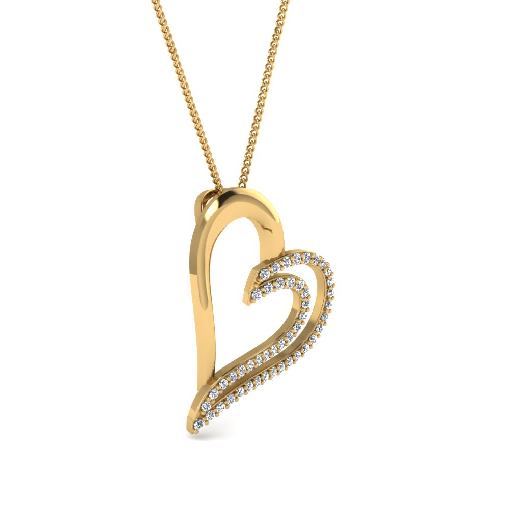 adorable-love-shaped-038ct-diamond-pendant-gold-18k